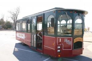 The Sunset Coast Marna-Nonna Wedding Trolley